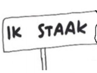 Staking op 13 april a.s. ?